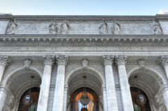 New York Public Library Main Branch Royalty Free Stock Image