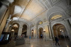 New York Public Library, New York City Stock Photos