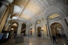 New York Public Library, New York City Stock Photos
