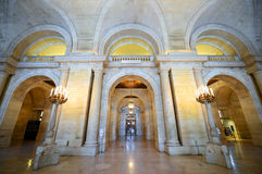 New York Public Library, New York City Royalty Free Stock Photo