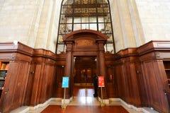 New York Public Library, New York City Royalty Free Stock Photo