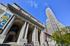 New York Public Library in New York City Stock Images