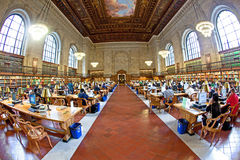 New York Public Library (NYPL) is Royalty Free Stock Photos