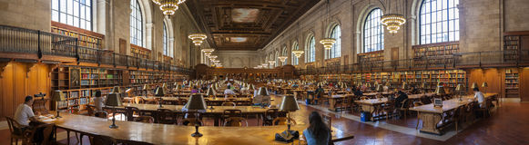 New York Public Library Stock Photos