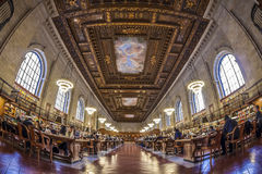 New York Public Library Stock Images