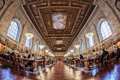 New York Pulbic Library Royalty Free Stock Photos