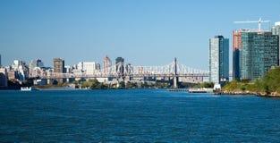 New York Queensboro Bridge Royalty Free Stock Photography
