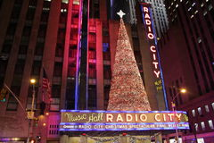 New York radiostadshus Arkivfoto