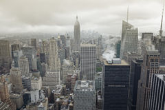 New York at a rainy day Stock Images