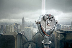 New York at a rainy day Stock Photography