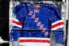 New York Rangers Τζέρσεϋ Στοκ Εικόνες