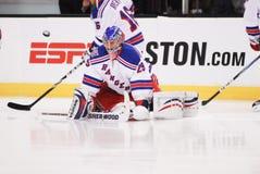 Chad Johnson. New York Rangers backup goalie Chad Johnson stock images