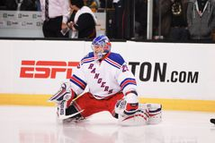 Chad Johnson. New York Rangers backup goalie Chad Johnson stock photos