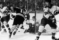 New York Rangers Goalie Eddie Giacomin. Royalty Free Stock Photo