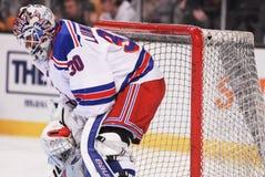 Henrik Lundqvist. New York Rangers goalie Henrik Lundqvist royalty free stock photography