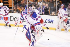Henrik Lundqvist. New York Rangers goalie Henrik Lundqvist royalty free stock image