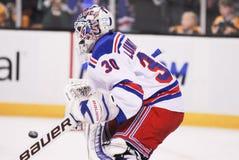 Henrik Lundqvist. New York Rangers goalie Henrik Lundqvist royalty free stock photos