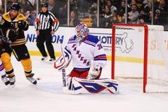 New York Rangers Goalie Henrik Lundqvist. New York Rangers star goalie Henrik Lundqvist royalty free stock photography