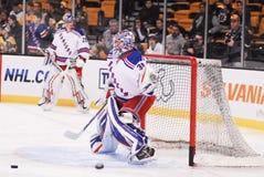 Henrik Lundqvist. New York Rangers star goalie Henrik Lundqvist royalty free stock images
