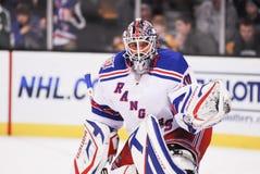 Henrik Lundqvist. New York Rangers star goalie Henrik Lundqvist stock photo
