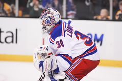 Henrik Lundqvist. New York Rangers star goalie Henrik Lundqvist royalty free stock photography