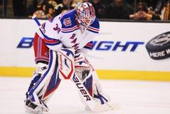 New York Rangers Superstar Goalie Henrik Lundqvist.  stock image