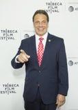New York regulator Andrew Cuomo Royaltyfri Fotografi
