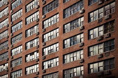 New York residential building front Royalty Free Stock Photography
