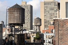 New york roof tops. View of new york from a rooftop Stock Photo