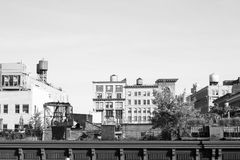 New york roof tops Royalty Free Stock Photography