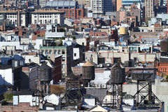 New York roofs Stock Image