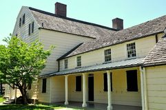 New York: Rufus King House 1750 Fotografia Stock Libera da Diritti