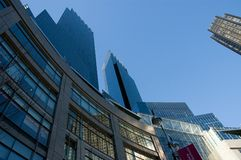 New York's Columbus Circle Royalty Free Stock Images