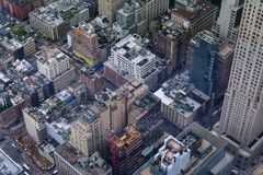 NYC - A city of cubes Stock Images