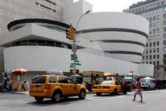 NEW YORK - SEPTEMBER 01: The Solomon R. Guggenheim Museum of mod Royalty Free Stock Photos