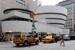NEW YORK - SEPTEMBER 01: Solomonen R Guggenheim museum av ändring Royaltyfria Foton