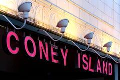 NEW YORK - SEPTEMBER 01: Stillwell Avenue subway station facade Royalty Free Stock Photos