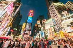 New York - september 5, 2010: tijdenvierkant op 5 september in nieuw Stock Afbeelding
