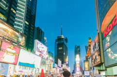 New York - SEPTEMBER 5, 2010: Times Square op 5 September in Nieuw Royalty-vrije Stock Fotografie