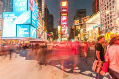 New York - SEPTEMBER 5, 2010: Times Square op 5 September in Nieuw Stock Foto