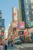 New York - SEPTEMBER 5, 2010: Times Square op 5 September in Nieuw Royalty-vrije Stock Foto