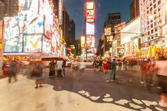 New York - SEPTEMBER 5, 2010: Times Square op 5 September in Nieuw Stock Afbeelding