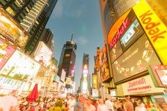 New York - 5 septembre 2010 : Times Square le 5 septembre dans nouveau Photos libres de droits