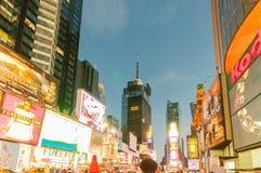 New York - 5 septembre 2010 : Times Square le 5 septembre dans nouveau Image libre de droits