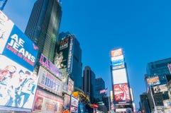 New York - 5 septembre 2010 : Times Square le 5 septembre dans nouveau Images libres de droits