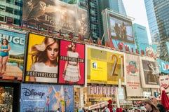 New York - 5 settembre 2010: Times Square il 5 settembre in nuovo Immagini Stock