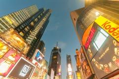New York - 5 settembre 2010: Times Square il 5 settembre in nuovo Immagini Stock Libere da Diritti