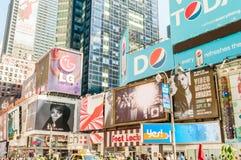 New York - 5 settembre 2010: Times Square il 5 settembre in nuovo Immagine Stock