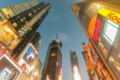 New York - 5 settembre 2010: Times Square il 5 settembre in nuovo Fotografia Stock