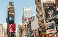 New York - 5 settembre 2010: Times Square il 5 settembre in nuovo Immagine Stock Libera da Diritti